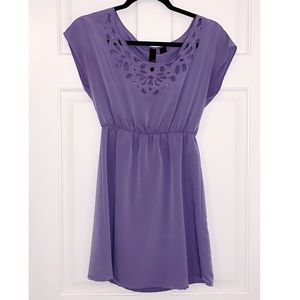 Petticoat Alley Purple Mini Dress